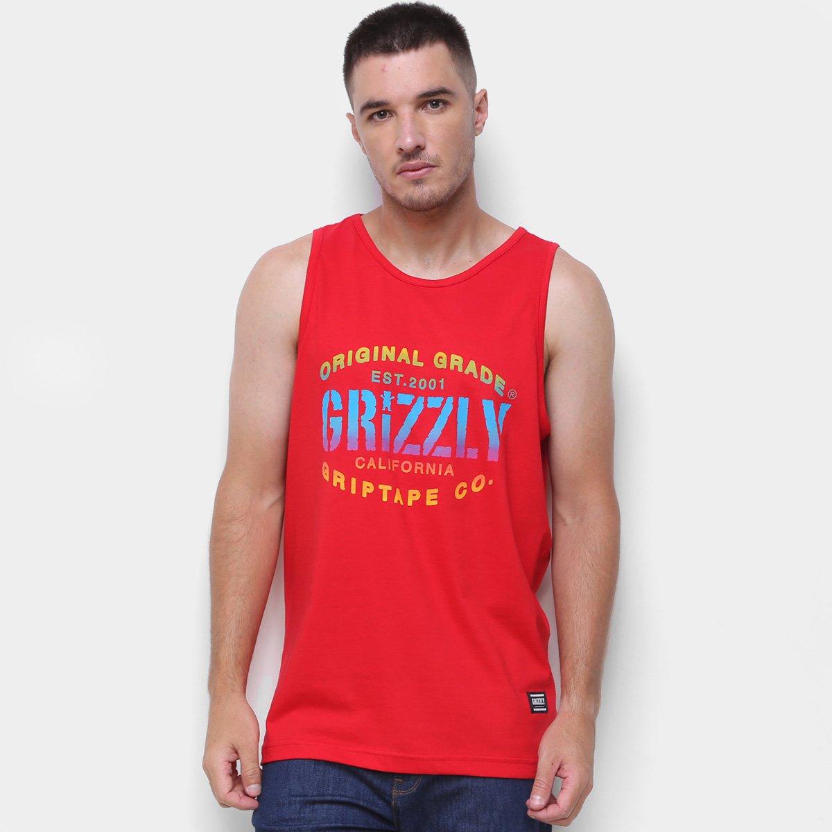 Regata Grizzly Original Grade Masculina