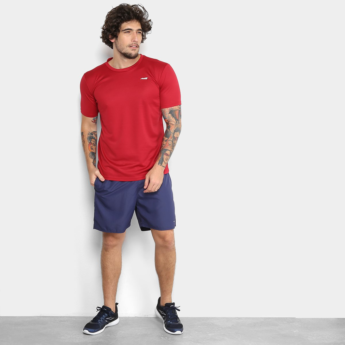 ... Foto 3 - Camiseta Avia Bummer Masculina ... 0dbfbe52b33c7