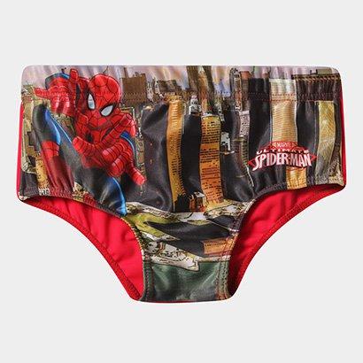 Sunga Infantil Tip Top Spider Man Cidade