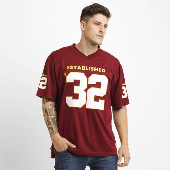 db9453cc3ae3a Camiseta New Era Washington Redskins Jersey Established - Compre ...