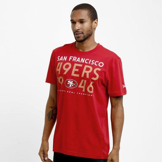 2befeb6887243 Camiseta New Era NFL Dualcolor San Francisco 49ers - Compre Agora ...