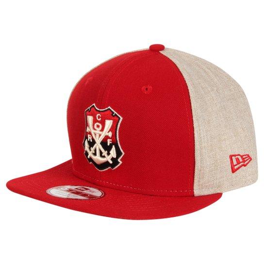 50137fdee7790 Boné New Era Flamengo Aba Reta 950 Masculino - Compre Agora