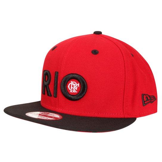 Boné New Era Rio Flamengo 950 - Compre Agora  1bd102a41e7