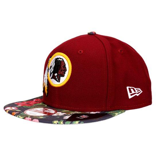 Boné New Era 950 NFL Original Fit Tropic Time Washington Redskins -  Vermelho Escuro fc7b0f34056