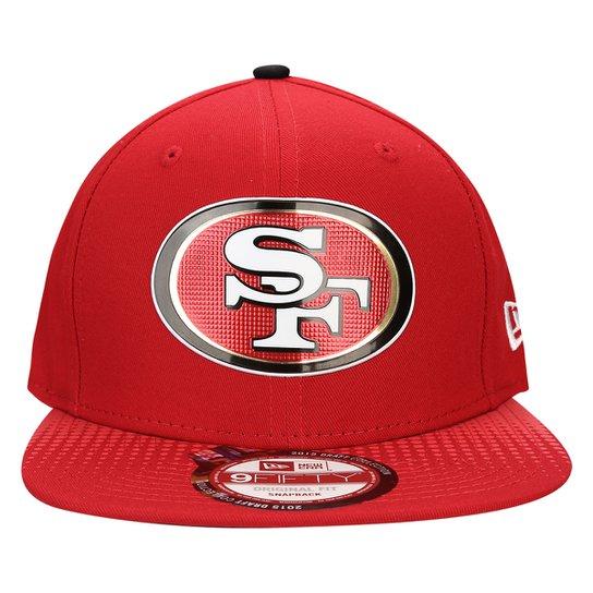 Boné New Era 950 NFL San Francisco 49ers - Vermelho - Compre Agora ... cf923b9b63e