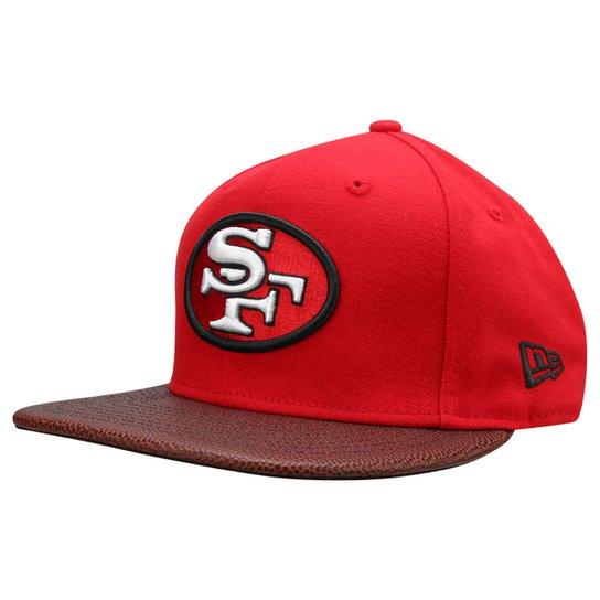 Boné New Era 950 NFL Super Bowl Champion XVI San Francisco 49ers - Vermelho 7856c11232e
