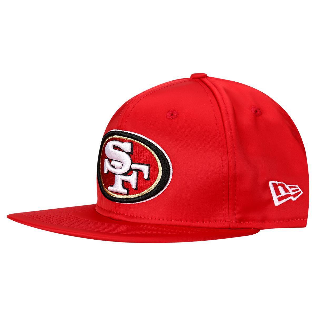 1994544c2a Boné New Era 950 NFL Original Fit Satin San Francisco 49ers   Livelo ...