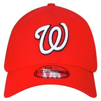 c583342fd0183 Boné New Era 3930 MLB Hc Basic Team Logo Washington Nationals
