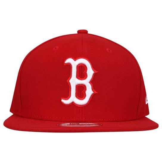 Boné New Era 950 Boston Red Sox - Vermelho+Areia 53c41829ab1