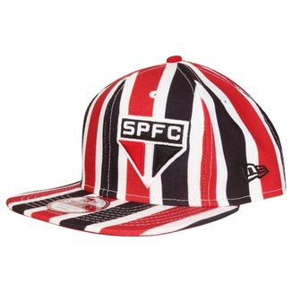 a0c0c25c69add Boné New Era São Paulo Aba Reta 950 Of St Stripes Masculino