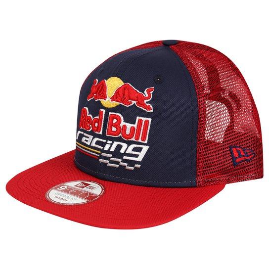 Boné New Era Red Bull 950 Of St Grid Racing - Marinho+Vermelho 66b4f11cbf9