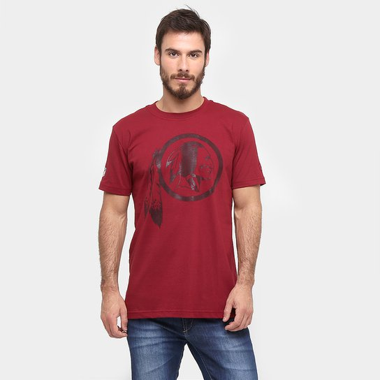 812faf334 Camiseta New Era NFL Basic Gel Washington Redskins - Compre Agora ...
