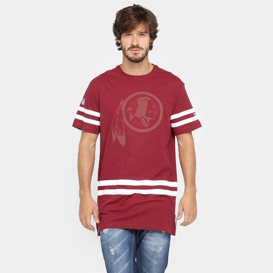 6e4eaf1528 Camiseta New Era NFL Long Washington Redskins - Compre Agora