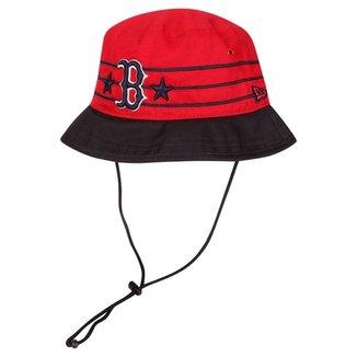 1888250103283 Chapéu New Era MLB Wraparound Boston Red Sox Otc -Bucket