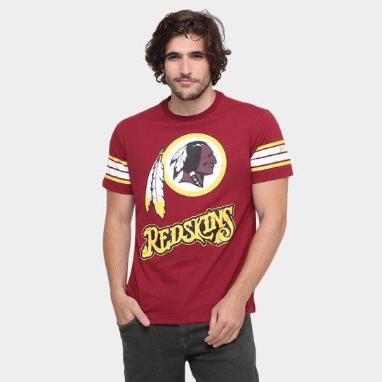 0e49a3c52cfa7 Camiseta New Era NFL Vintage Washington Redskins - Compre Agora ...