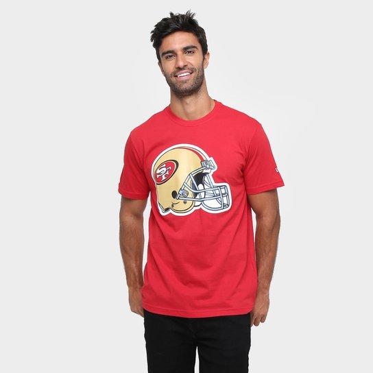 9f937b0d3186a Camiseta New Era NFL Datehelmet San Francisco 49Ers - Compre Agora ...