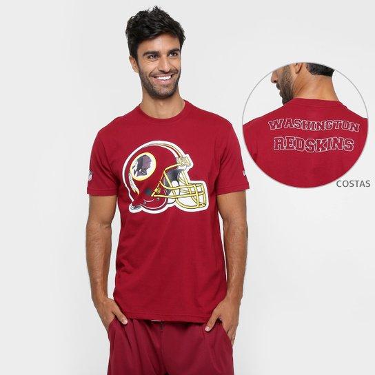 cf18664a9 Camiseta New Era NFL Datehelmet Washington Redskins - Compre Agora ...