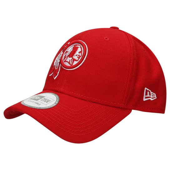 2aa71a7a13 Boné New Era 940 Hc Sn White On Scarlet Washington Redskins - Compre ...