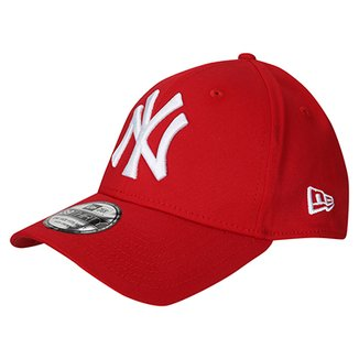 Boné New Era 3930 Hcleague Baseb Scarlet New York Yankees 4edc8a77b59