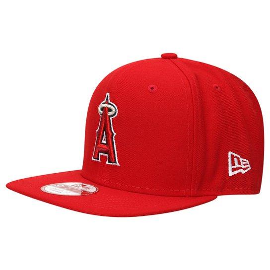 Boné New Era 950 Of Sn Basic Los Angeles Angels Of Anaheim Otc - Vermelho f88a9417b8a