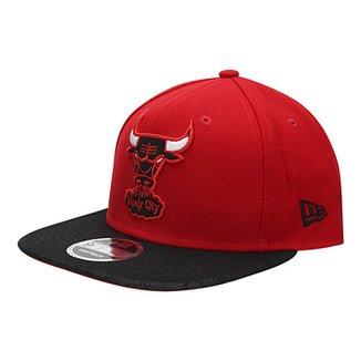 Boné New Era NBA 950 Of Sn Vize Flect Chicago Bulls ac1b60215a0