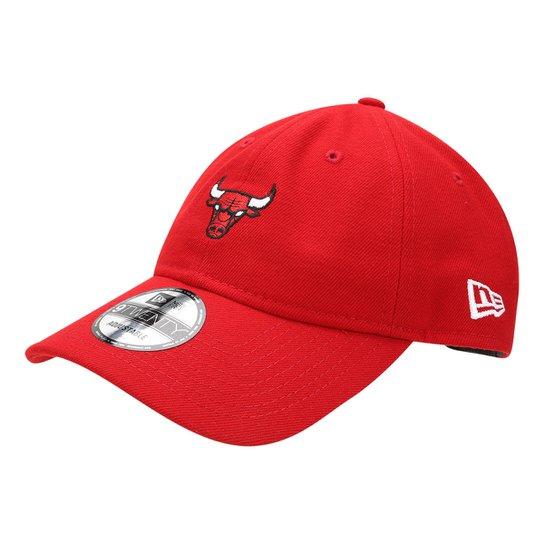 Boné New Era NBA Chicago Bulls 920 Aba Curva St Small Logo Vermelho -  Vermelho 7db720a318e91