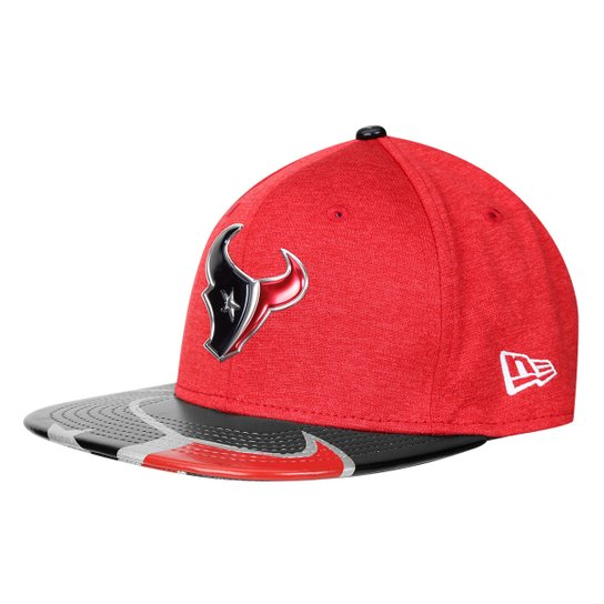 dc744f93d Boné New Era NFL Houston Texans Aba Reta 950 Original Fit Sn On Stage  Masculino -