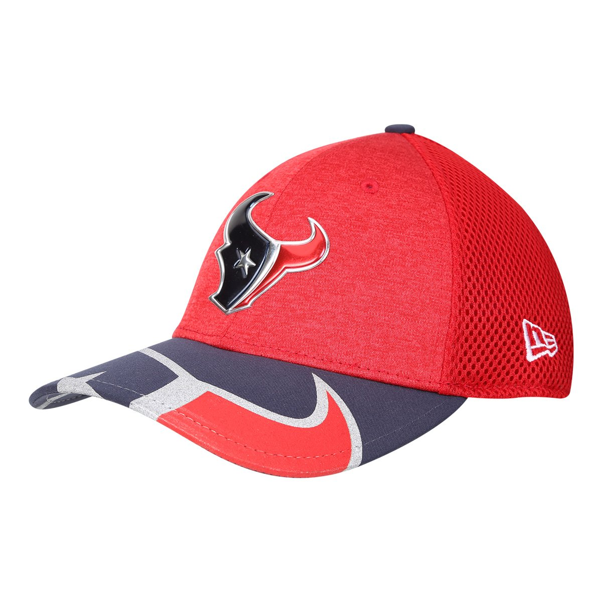 5109cce19c Boné New Era NFL Houston Texans Aba Curva 3930 On Stage Masculino