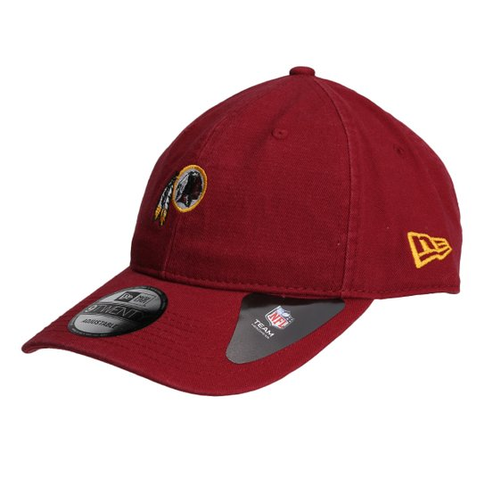 cd1a9da7919db Boné New Era NFL Washington Redskins Aba Curva 920 Classic - Vermelho