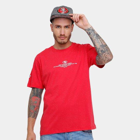 58c016e832b3b Camiseta New Era NFL San Francisco 49Ers - Vermelho - Compre Agora ...