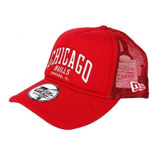 Boné New Era NBA Chicago Bulls Aba Curva 940 Af SN Lic2146 Fa17 Scawh ae1495a567c