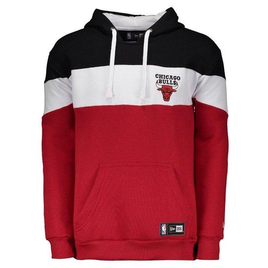 6f3b686f10 Moletom New Era NBA Chicago Bulls Listrado - Compre Agora