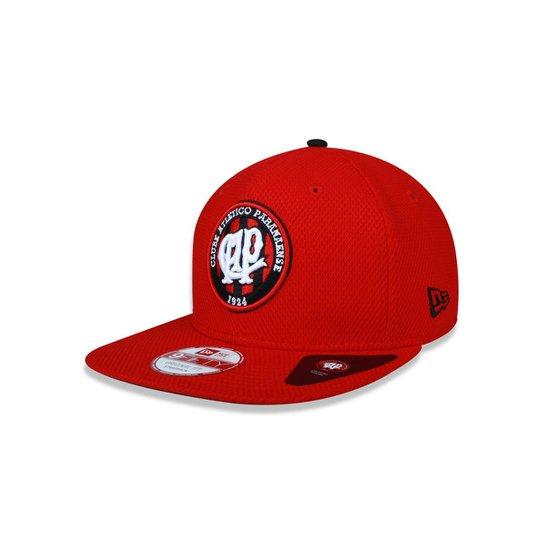 dcbdb5ed4 Bone 950 New Era Fit Atletico Paranaense Futebol - Vermelho