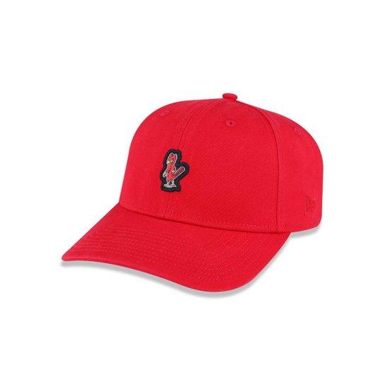 Boné 3930 Saint Louis Cardinals MLB Aba Curva New Era - Vermelho ... a203106d79b