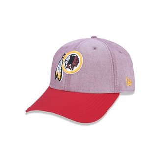7e7349bec3b75 Boné 940 Washington Redskins NFL Aba Curva Snapback New Era