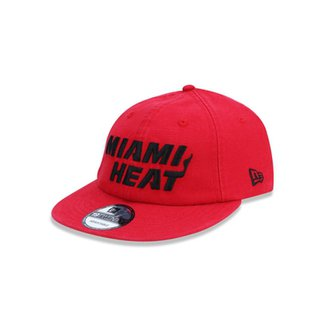 Boné 1920 Miami Heat NBA Aba Curva New Era 3f8953291b5c3