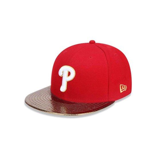 fcdedfcc625dd Boné 5950 Philadelphia Phillies MLB Aba Reta New Era - Compre Agora ...