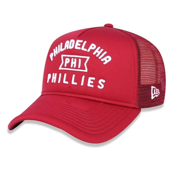 Boné Philadelphia Phillies 940 A-frame Core Trucker - New Era - Vermelho 8bbe967a34b