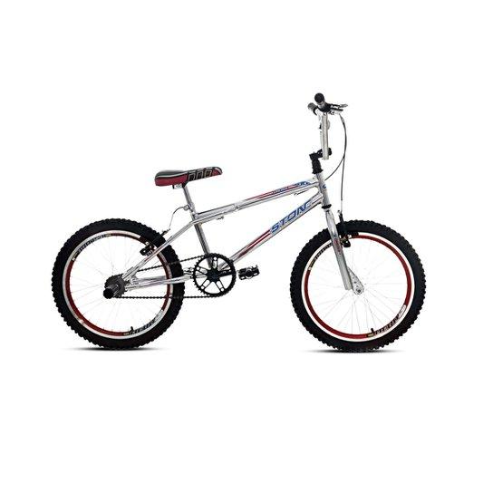 7c5c45bc8dbbb Bicicleta Aro 20 Cromo Cross Sem Marcha - Stone Bike - Vermelho