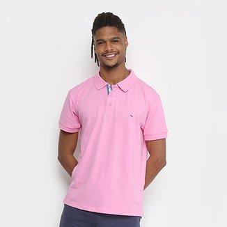 Camisa Polo Gangster Piquet Com Elastano Masculina a84e65982251a