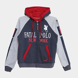 Compre Moleton Com Capuz Infanto Juvenil Online  c33102c6e5ba0