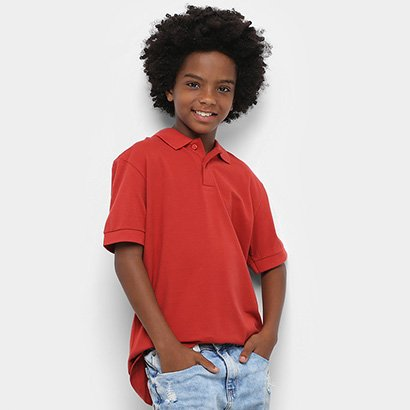 Camisa Polo Infantil Colcci Fun Masculina