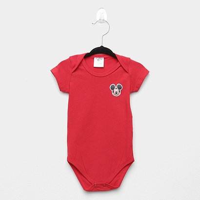 Body Infantil Marlan Básico Mickey Disney Bebê
