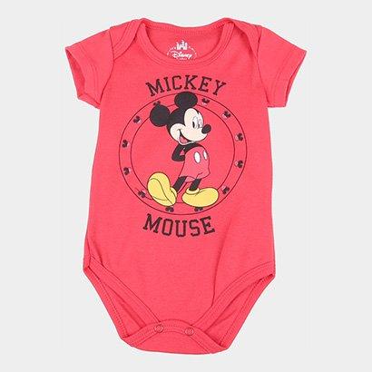 Body Infantil Marlan Disney Mickey Mouse Masculino