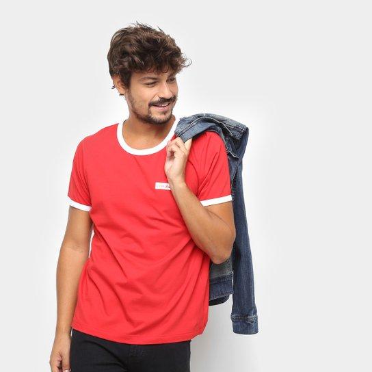 cd109fc06 Camiseta Manga Curta Coca-Cola Estampada Masculina - Vermelho ...