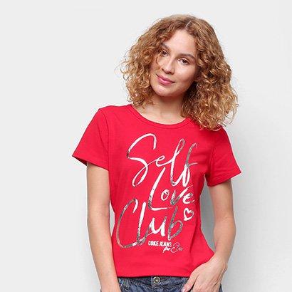 Camiseta Coca Cola Self Love Club Feminina