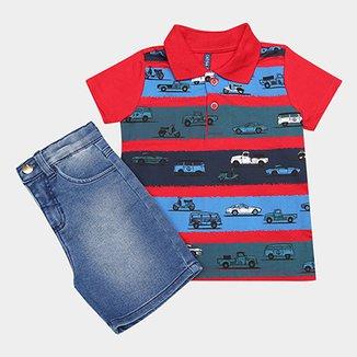 ad431fbbe3 Compre Bermuda Jeans Infantilbermuda Jeans Infantil Online