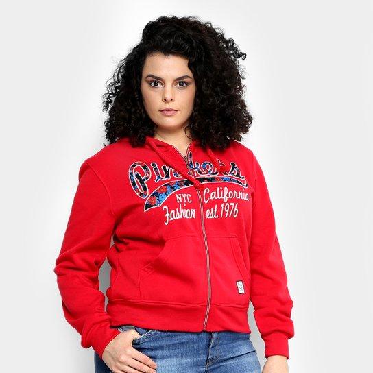 ebd13a3c1c Moletom Facinelli Estampado Capuz Plus Size Feminino - Compre Agora ...