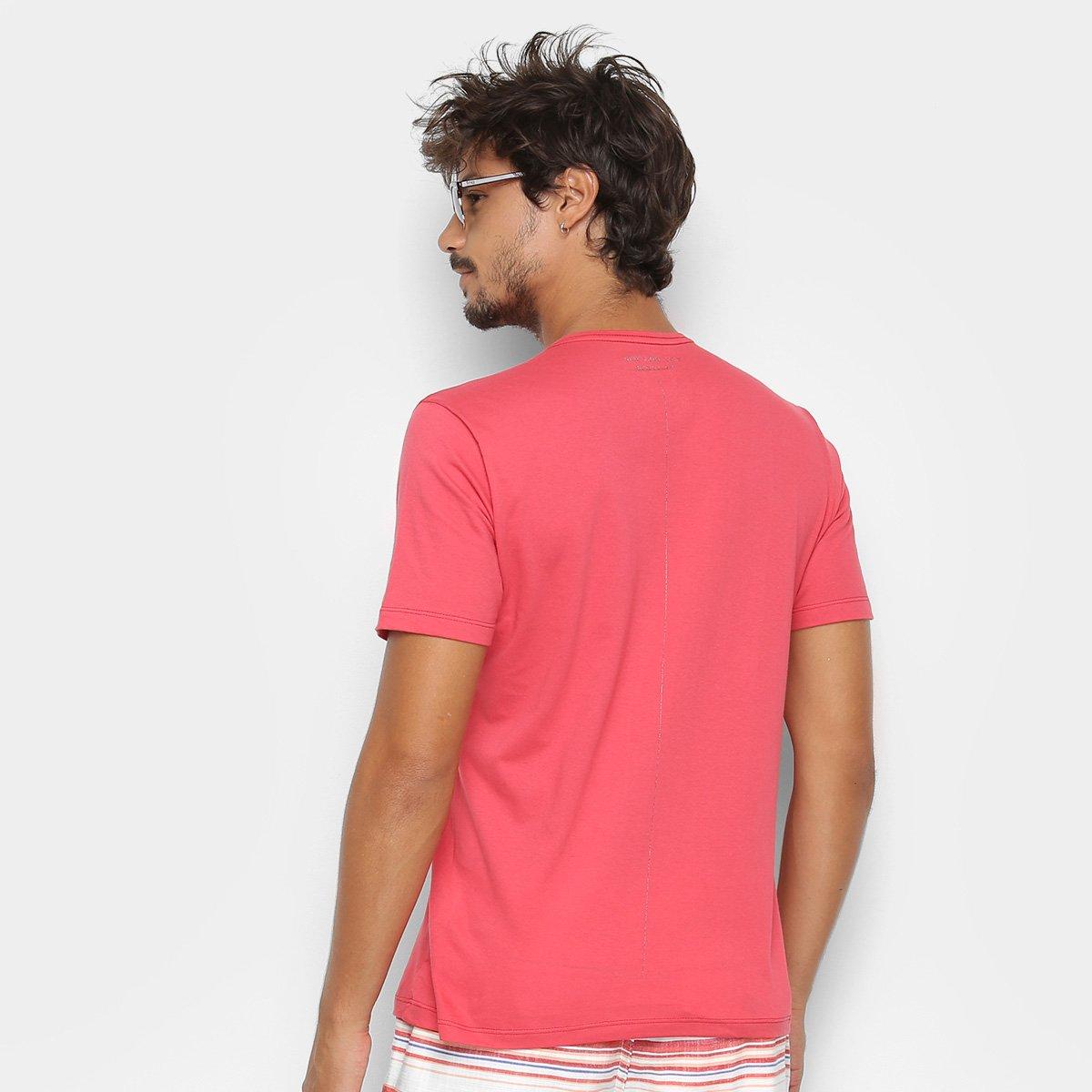 Foto 2 - Camiseta Kohmar Lisa Meia Malha Masculina