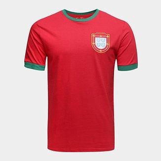 Camiseta Portugal 1966 Retrô Times Masculina c2901bf3eccb8